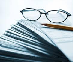 очки и документы