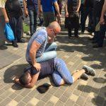 Причинение вреда при задержании лица совершившего преступление